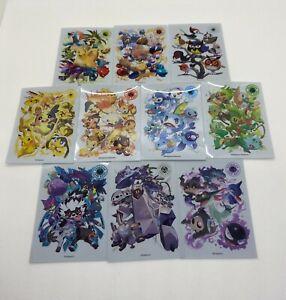 Pokemon Type Fighters Set Card Sleeves deck shield 10sheets Pokémon Center Japan
