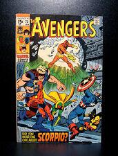 COMICS: Marvel: Avengers #72 (1970), 1st Zodiac app -RARE (ironman/thor/captain)