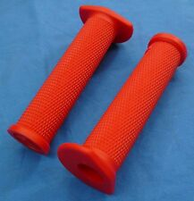 YAMAHA GRIZZLY ODI RUFFIAN ATV SINGLE PLY GRIPS RED NEW THUMB THROTTLE