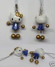 Hello Kitty Dangling Hand Leg CellPhone Charm Strap Blue