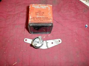 NOS DELCO 1955-6 HUDSON & HORNET BACK UP & NEUTRAL SWITCH W/ ULTRAMATIC