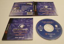 SEGA Dreamcast PlanetWeb V3.0 Internet Browser Disk Complete with manual
