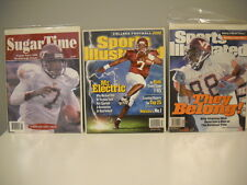 3 Virginia Tech Hokies Football Magazines No Label 12 Player Cards FREE Shipping