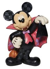 """More details for disney traditions jim shore halloween mickey mouse vampire 17"""" figure statue new"""