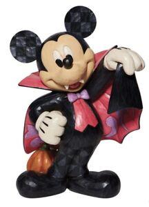 Disney Traditions Jim Shore Halloween Decoration Mickey Mouse  Vampire Figure 🎃