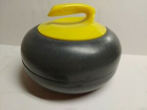 Asham Yellow Curling Rock Ice Bucket