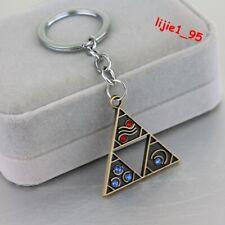 Game The Legend of Zelda Triforce Logo Alloy Key Chains Keychain Keyfob Keyring
