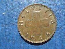 Switzerland 2 Rappen 1948B