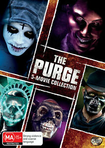 BRAND NEW The Purge : 5-Movie Collection (DVD, 5-Disc Set) *PREORDER R4