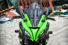 FRONT COWL FAIRING COVER ZX10R STYLE WITH WINDSHIELD FOR KAWASAKI NINJA 250 300