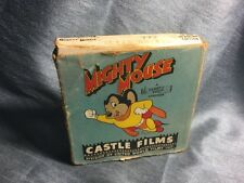 Vintage 1950s Cartoon Mighty Mouse Eliza On Ice Black & White 16mm Film Castle