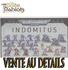 Warhammer 40000 Indomitus Primaris space Marines Vente au détails Rabiots bitz