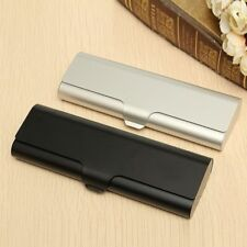 1Pcs Matte Hard Metal Spectacles Glasses Protection Eyeglasses Case Holder Box