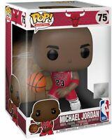 "Michael Jordan NBA Chicago Bulls 10"" Super Sized POP! Basketball #75 Figur Funko"