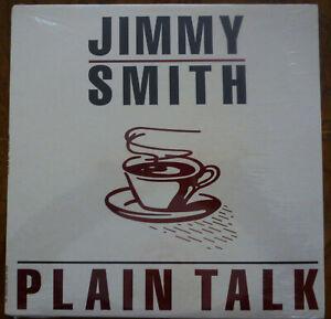 JIMMY SMITH Plain Talk LP Vinyl Album FACTORY SEALED 1981