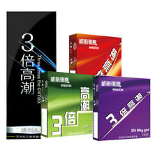 12 pcs Natual Latex G Spot Condom thin Condoms For Men / Male / Gay Condoms