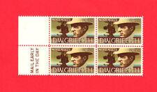 SCOTT # 1555 American Arts United States U.S. Stamps MNH - Margin Block of 4