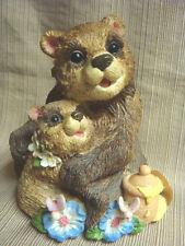 """MOMMA & BABY HONEY BEAR MUSIC BOX - """"Memory""""  from Cats"""