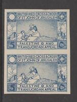 Palestine - Charity Aid Red Cross Middle East Cinderella Stamp 6-10-43 mnh gum