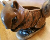 Vintage Ceramic Squirrel Planter-Napcoware