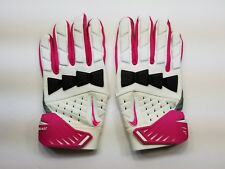 NIKE NFL HYPERBEAST FOOTBALL LINEMEN GLOVES BREAST CANCER AWEARNESS - SIZE 4XL