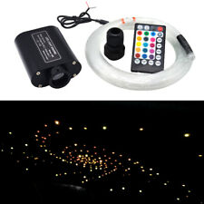 Audio Fiber Optic Star Light Auto Headliner Roof Ceiling Light Source 300points