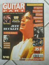 JEFF BUCKLEY-revue GUITAR PART-n°46 JANVIER 1998-free port!-lot