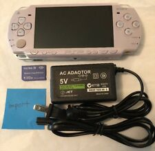 LAVENDER PURPLE Sony PSP 2000 System w/ Charger & Memory Card Bundle Import