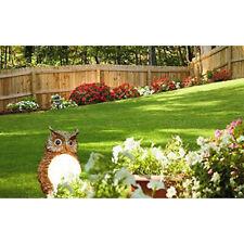 Garden Owl Solar Power Lights Ornamental Animal LED Lights Outdoor Garden