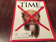 """Time Magazine The End of Bin Laden """"Red X"""" Issue 20 May 2011"""