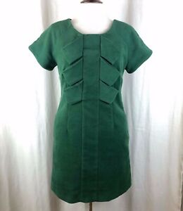 Moon Collection Green Velour Dress Small