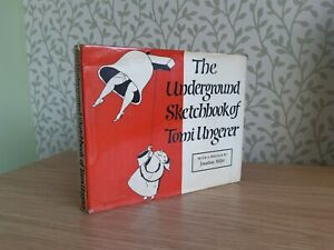 The Underground Sketchbook of Tomi Ungerer - 1964 First Edition - *Erotica*