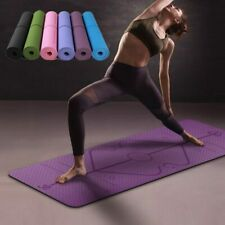 Estera De Yoga TPE Alfombra Antideslizante Colchoneta tapeta para ejercicios