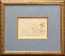 Pierre-Auguste Renoir Reclining Nude unsigned with beautiful Custom frame OBO