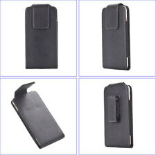 Leather Belt Clip Case w/ 360º SWIVEL Belt Loop Holster Pouch Cover, Waist Bag