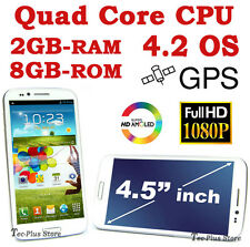 *NEW* EZIO 9389W 4.5-inch 2GB-RAM QUAD CORE ANDROID 4.2 GPS 2-SIM HD SMARTPHONE