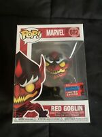 Funko Pop! Marvel Red Goblin #682 NYCC 2020 Shared Exclusive Absolute Carnage