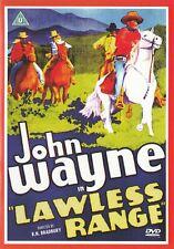 Lawless Range - John Wayne - NEW All Regions DVD