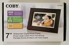 """Coby 7"""" Widescreen Digital Photo Frame DP700WD LCD Color Display"""