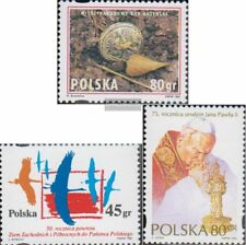 Polen 3532,3535,3536 (compleet Kwestie) gestempeld 1995 Katynjahr, Westverschieb