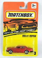 Matchbox 1994 Red Rolls Royce MB 73 Sealed On Card *RARE*