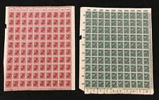 Germany Reich Inflation Blocks Sheets MNH x 20 (2000 Stamps)AD 798