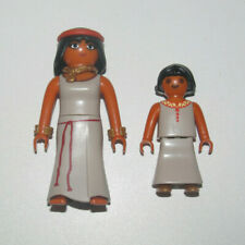 Playmobil Figurine Personnage Lot Femme Egyptienne + Enfant Petite Fille NEW