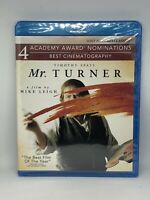 "Mr. Turner Blu-ray ""The Best Film Of The Year"" Timothy Spall Brand New Sealed"