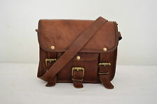"9""Women Lady Leather Shoulder Bag Tote Purse Handbag Messenger Crossbody Satchel"