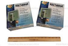 (2) ILCO KEY CABINETS W/ NUMBERED KEY TAGS 10 Key safe locksmith lock pick tool