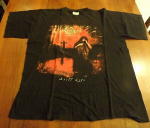 **OPETH** STILL LIFE Vintage Rare Authentic T-Shirt XL - made in Europe.
