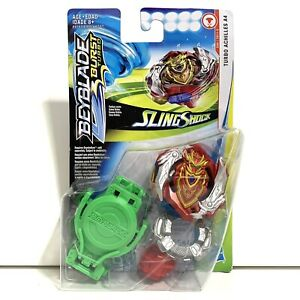 Beyblade Burst Turbo Sling Shock Turbo Achilles A4 D66 / TB11-S Spins Right NEW
