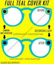 TEAL Snapchat Spectacles Yellow Ring Delete Kit