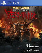 Warhammer - End Times Vermintide - PS4 PlayStation 4 - ~ FSK 18 - Neu Ovp